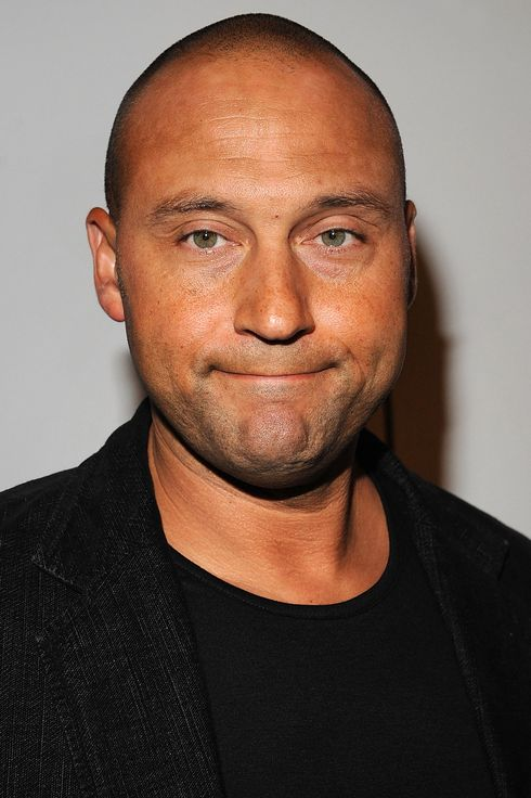 "Derek Jeter attends the Billy Crystal's ""700 Sundays"" Broadway opening night at Imperial Theatre on November 13, 2013 in New York City."