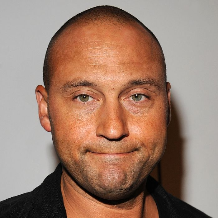 Derek Jeter attends the Billy Crystal's