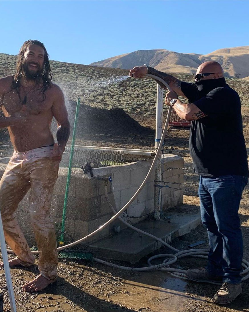 Jason Momoa Posts Extremely Dirty Photos to Instagram