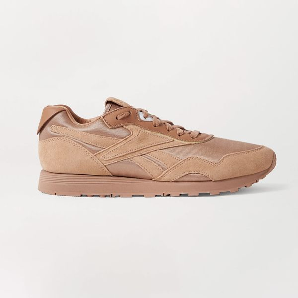 Reebok x Victoria Beckham Rapide Mesh, Suede, and Leather sneakers