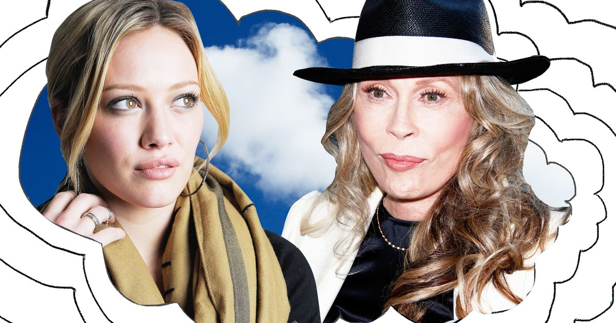 ead4cee302dc I Think About Hilary Duff s Feud With Faye Dunaway a Lot
