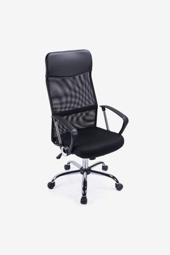 Exofcer High Curved Back Mesh Home Office Chair