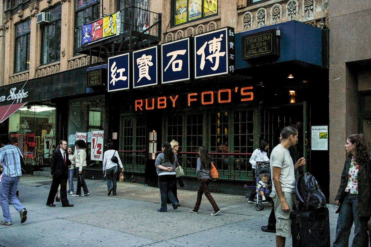 Ruby Foo S Was Actually Still Open Until Last Week