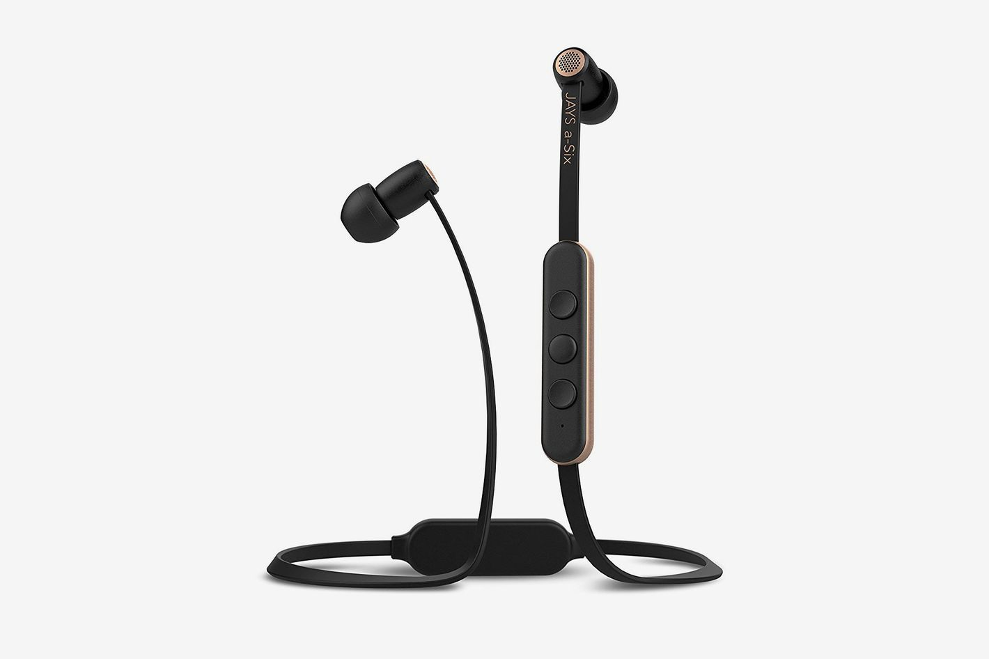 JAYS A-Six Wireless In-Ear Earphones Black/Gold
