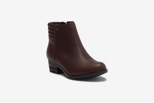 Danica Short Waterproof Leather Boot