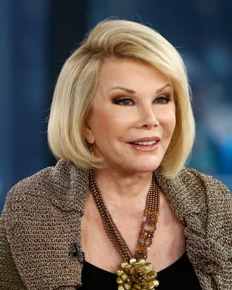 TODAY -- Pictured: Joan Rivers appears on NBC News'