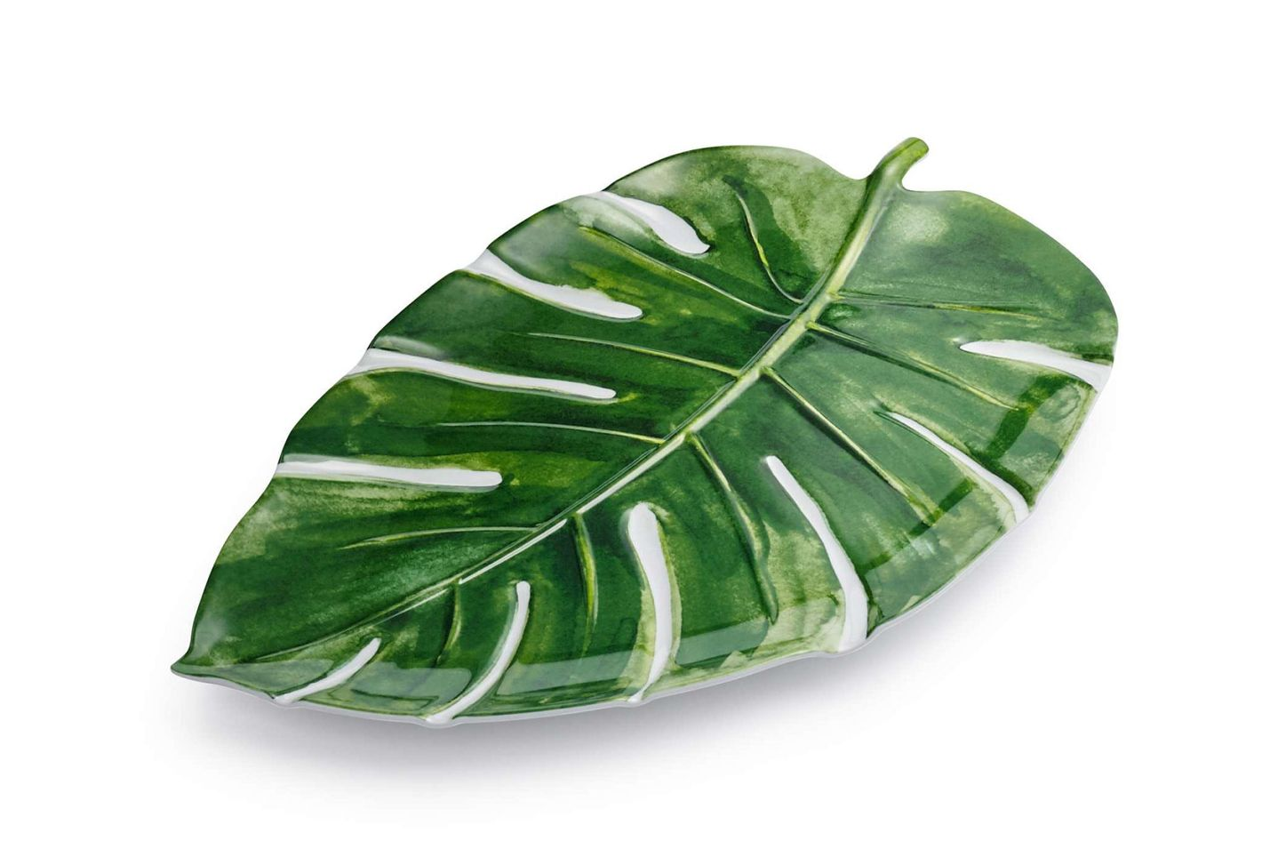 Sur La Table Palm Frond Melamine Platter