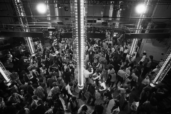 06 Mar 1978 --- Manhattan's reknowned disco and nightclub Studio 54 is located at 254 West 54th Street.  --- Image by © Michael Norcia/Sygma/Corbis