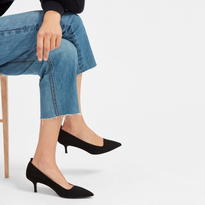 Everlane Launched the Editor Kitten Heel Pump