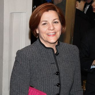Council Speaker Christine C. Quinn attends the Gore Vidal's