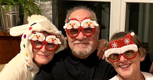 vulture.com - Rachel Handler - Here Is a Photo of Glenn Close Dressed As a Sheep at Paul Schrader's Christmas