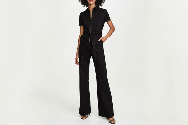 Alice + Olivia Jeans Gorgeous Wide Leg Jumpsuit