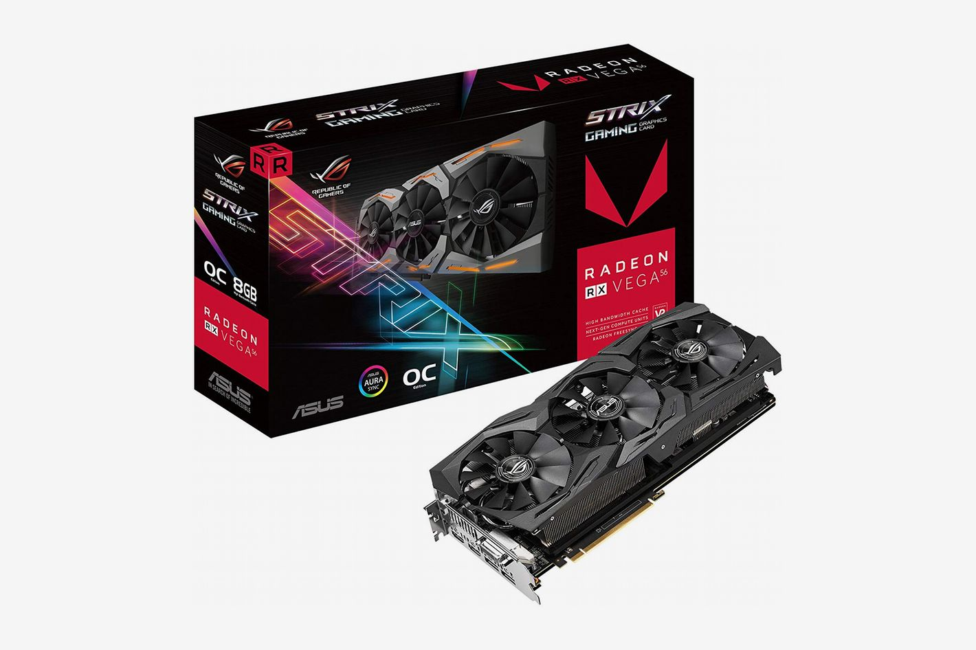 ASUS Strix RX Vega 8GB Gaming Graphics Card