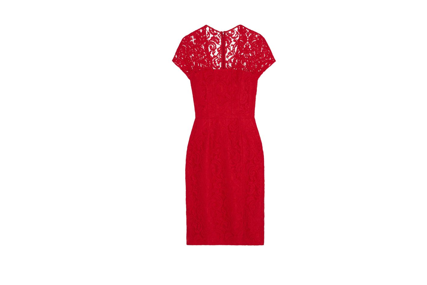 Carven guipure lace dress