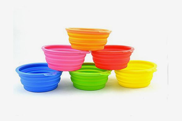FuzzyGreen Pop-Up Collapsible Bowl