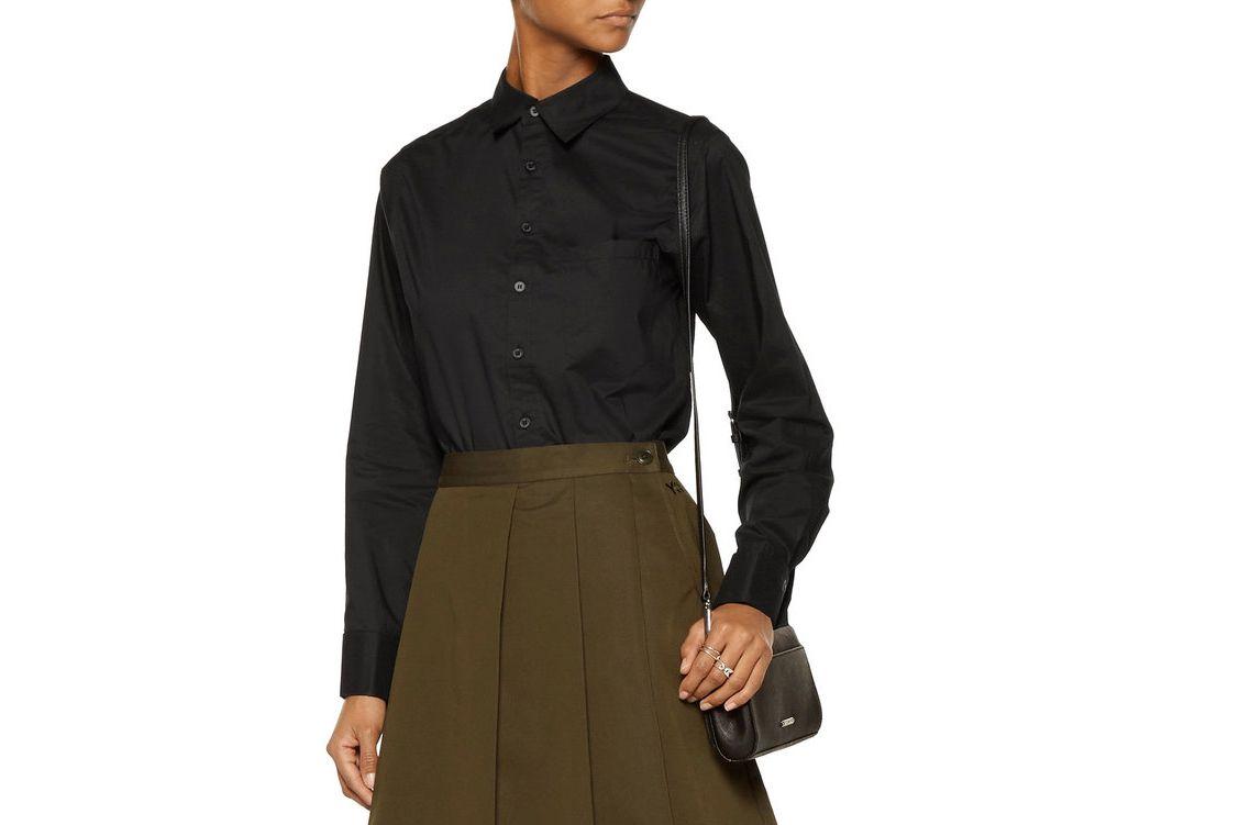 Y-3 + Adidas Wren Cotton-Poplin Shirt