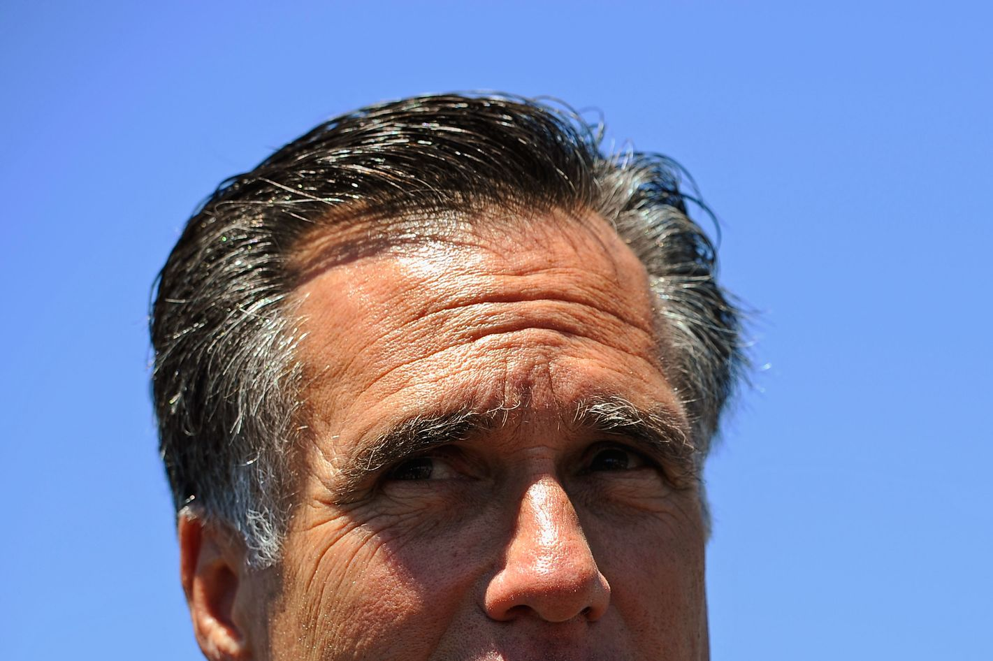 Republican presidential candidate and former Massachusetts Gov. Mitt Romney speaks during a campaign stop