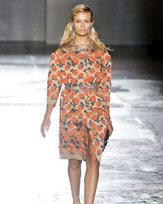 Could this be Marsh's final casting for Prada?