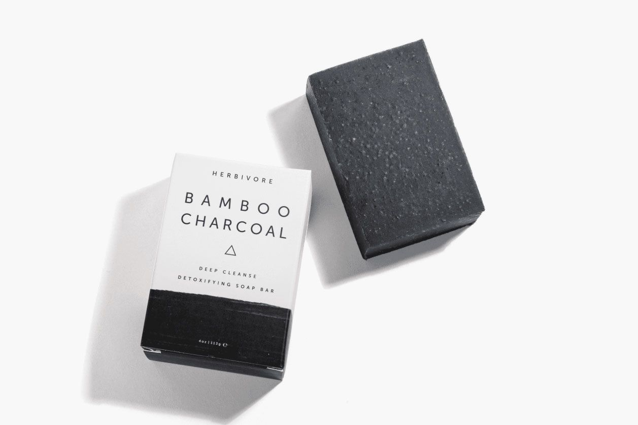Herbivore Botanicals Bamboo Charcoal Deep Cleanse Detoxifying Soap Bar