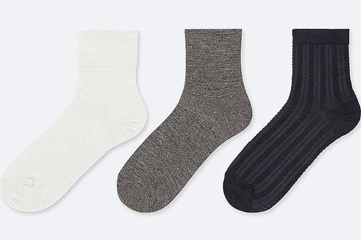 Women Glitter Crew Socks (3 Pairs)