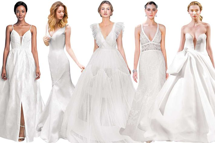 55 Classic Wedding Dresses With a Kick