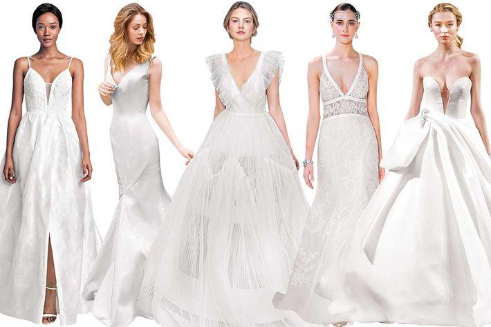 Classic Cut Wedding Dress