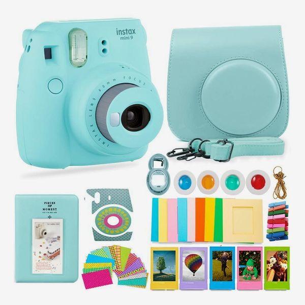 Ensemble appareil photo et accessoires Fujifilm Instax Mini 9