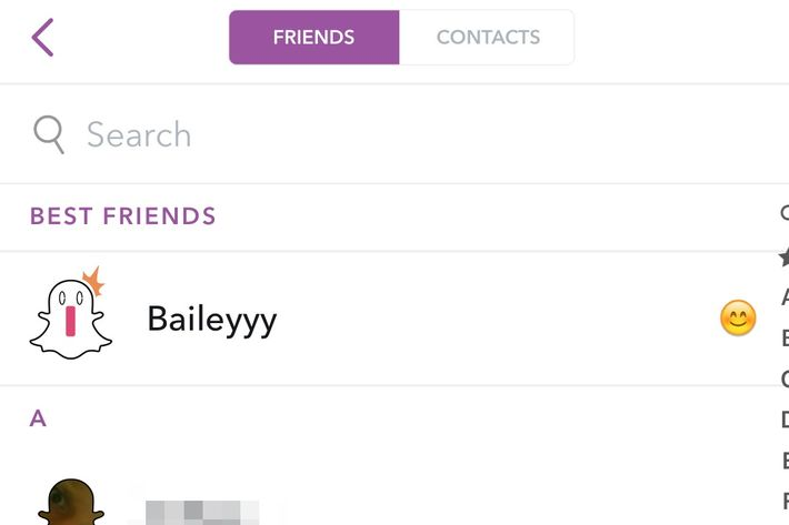 how to tell who has who added on snapchat