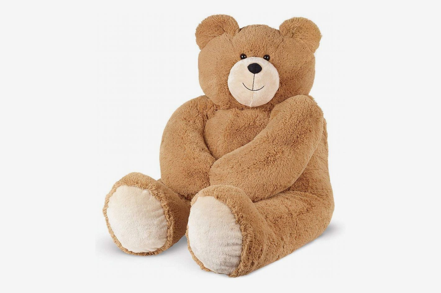 Vermont Teddy Bear - Giant Love Bear, 4 Feet Tall, Brown