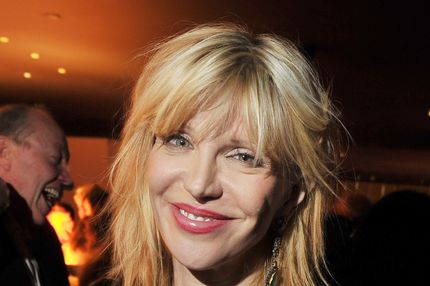 "NEW YORK, NY - DECEMBER 13:  Singer/actress Courtney Love attends the after party for the Giorgio Armani & Cinema Society screening of ""Albert Nobbs"" at the Armani Ristorante on December 13, 2011 in New York City.  (Photo by Stephen Lovekin/Getty Images)"
