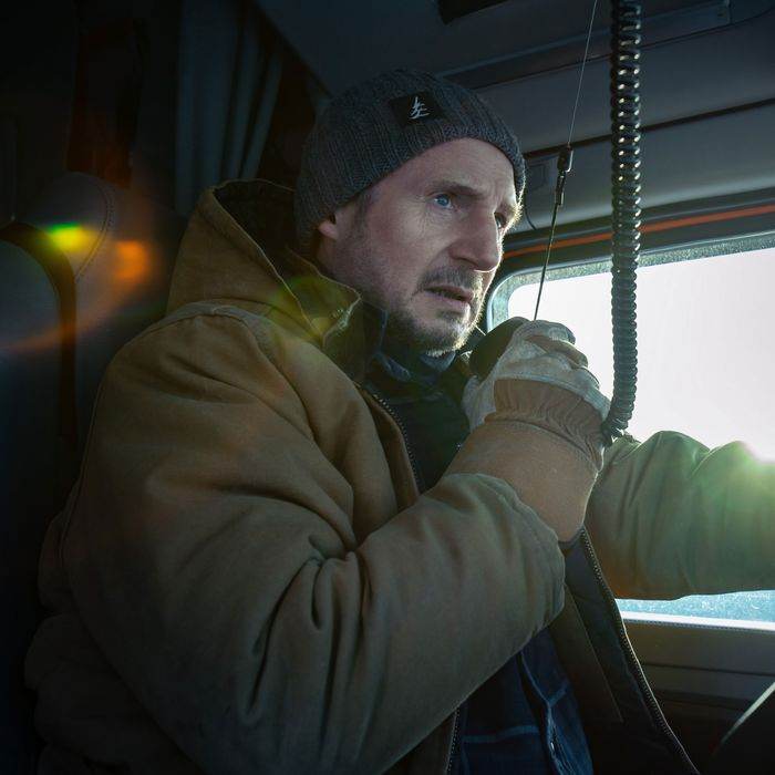 Liam Neeson in The Ice Road.