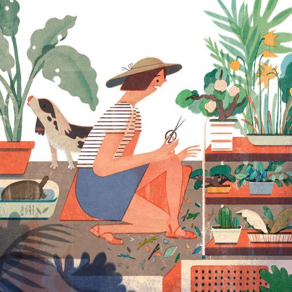 Lisk Feng, 'Spring Backyard'