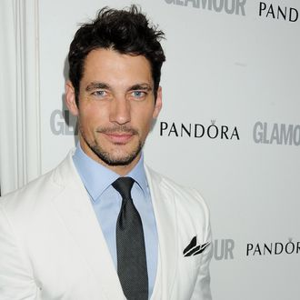 David Gandy arrives at the Glamour Women of the Year Awards in association with Pandora at Berkeley Square Gardens on May 29, 2012 in London, England.