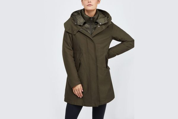 Woolrich Long Military Coat