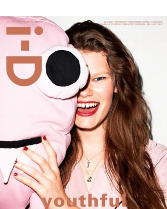 Kelly Mittendorf for one of <em>i-D</em>'s