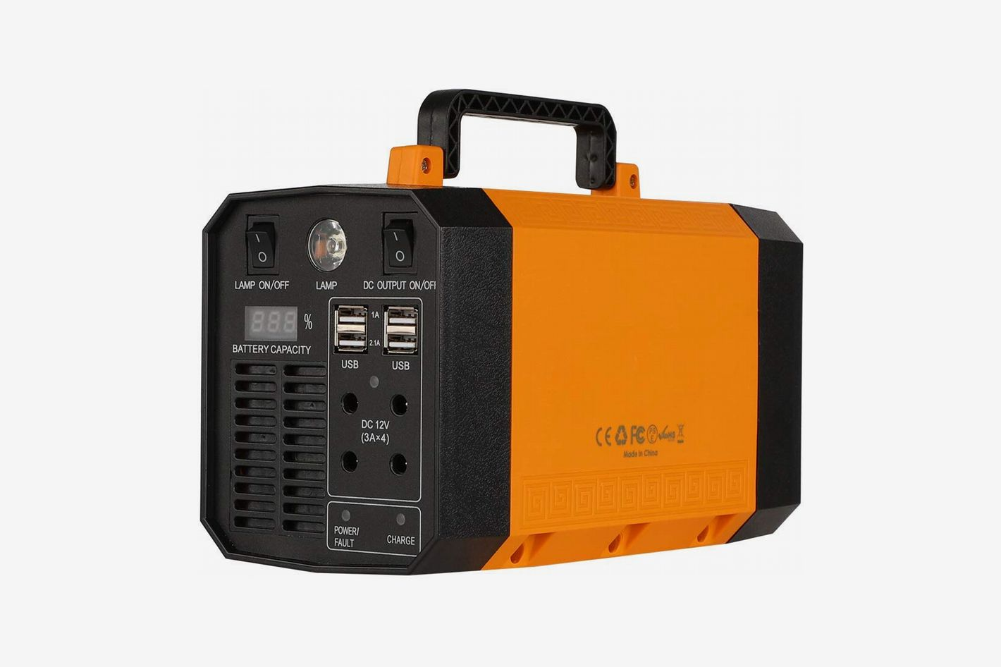 EasyFocus Portable Power Station 200Wh Solar Generator