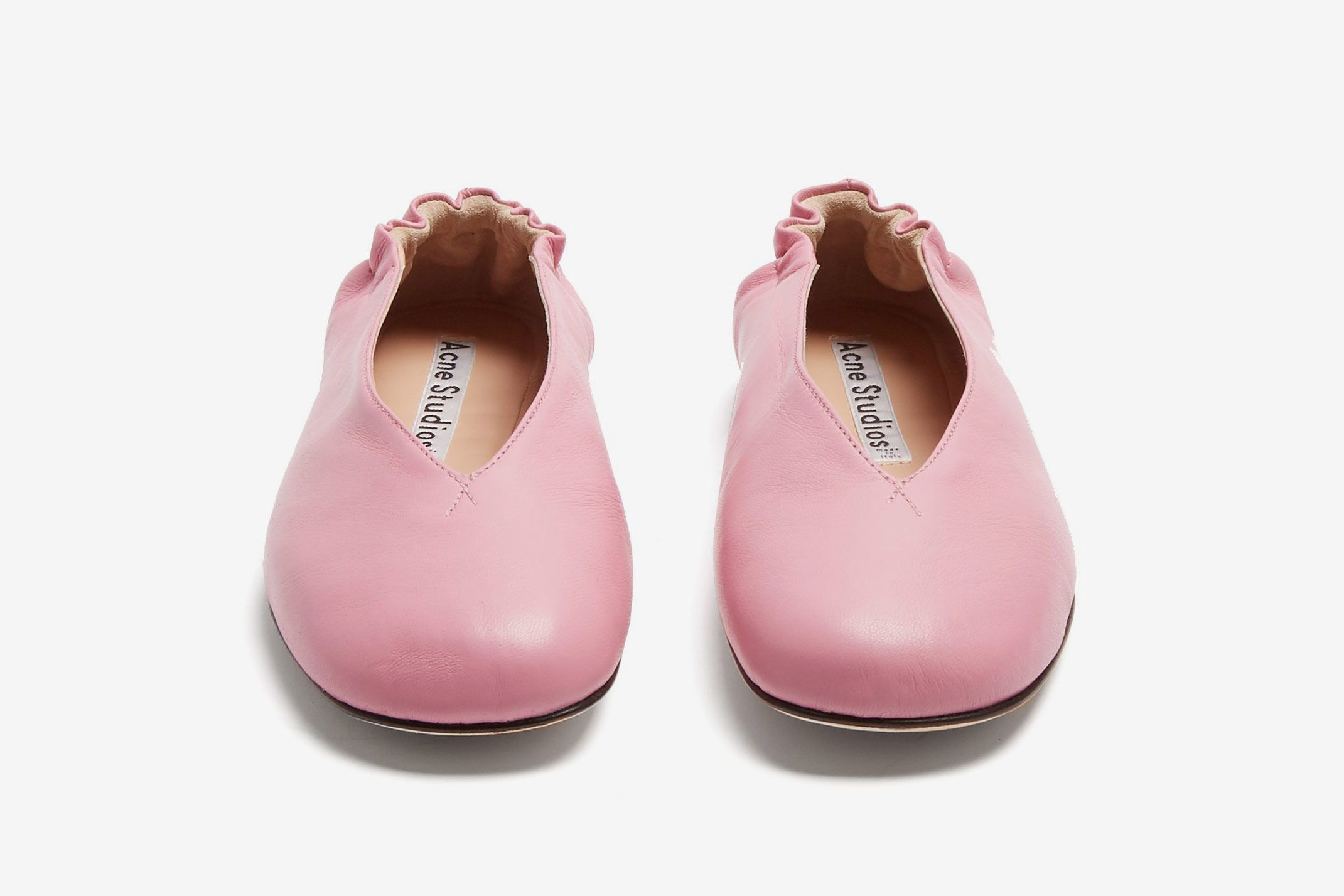 Acne Studios Oddry leather ballet flats