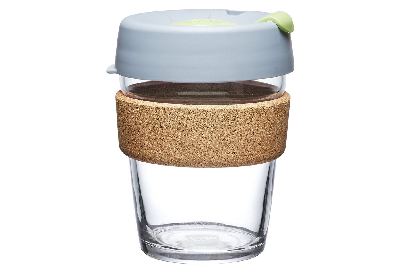 KeepCup Brew Glass Reusable Coffee Cup, 12-Ounce, Day Lily