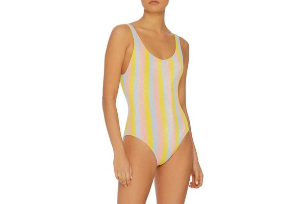 Solid & Striped The Anne-Marie Striped One Piece Swimsuit