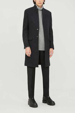All Saints Burge Wool-Blend Coat
