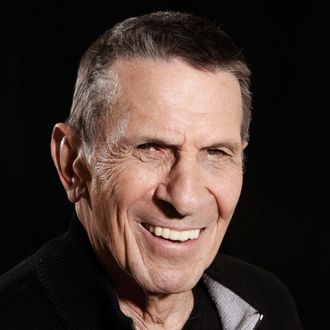FILE - In this April 26, 2009 file photo, actor Leonard Nimoy poses for a portrait in Beverly Hills, Calif.