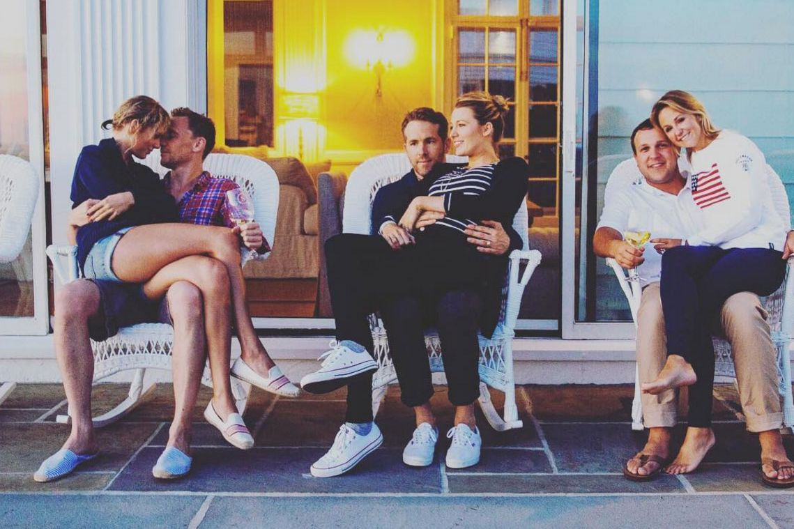 Ryan Reynolds Explains Why He Looked Like He Wanted to Die at Taylor Swift's 4th of July Party