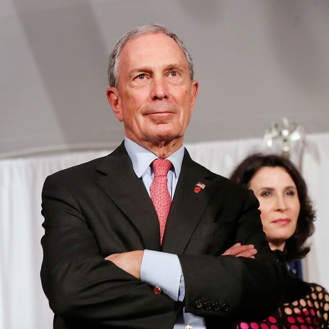 "New York Mayor Michael Bloomberg and New York City Film Commissioner Katherine Oliver  at the 8th Annual ""Made In NY Awards"" at Gracie Mansion on June 10, 2013 in New York City."