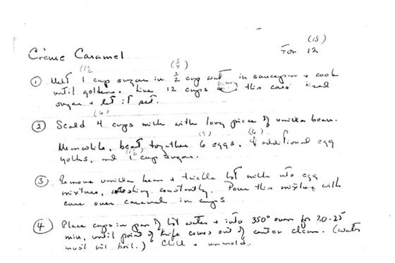 In Didion's own handwriting.
