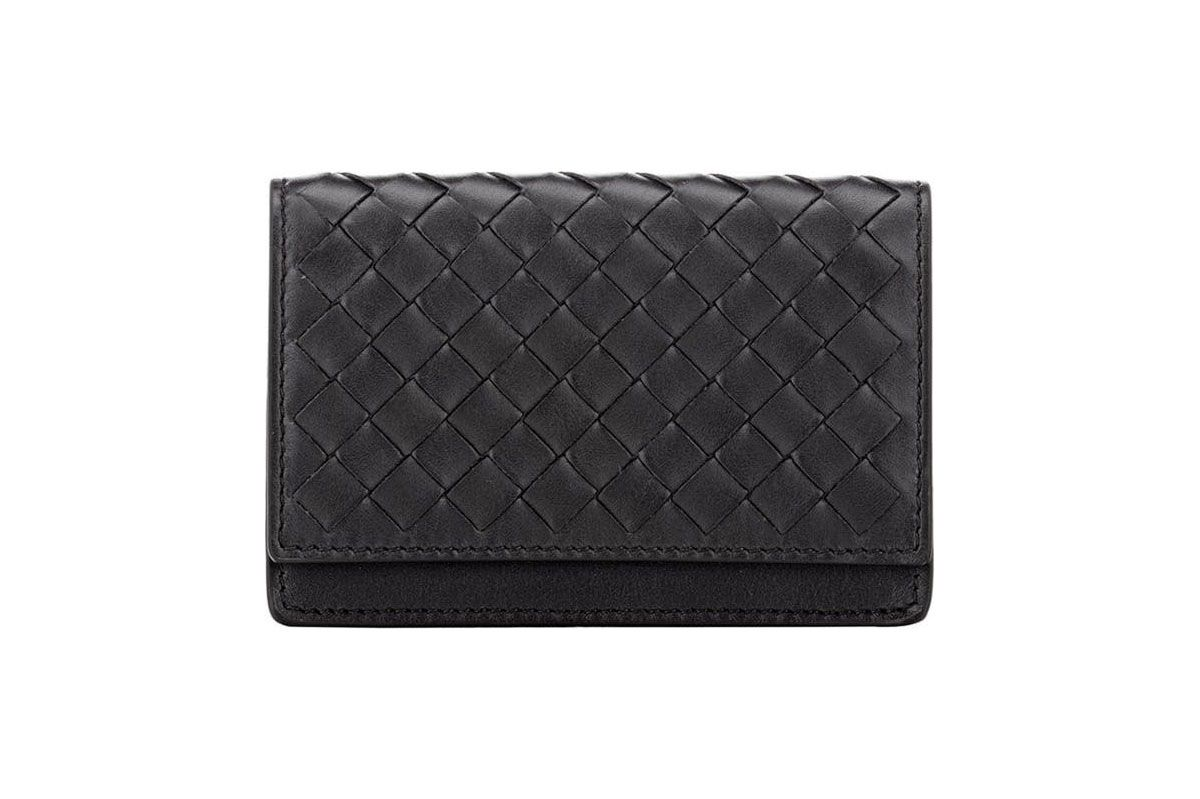 Bottega Veneta Intrecciato Gusseted Card Case