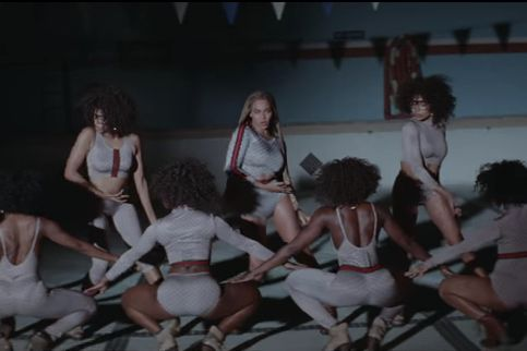5800b1d64c Every Look from Beyoncé s  Formation  Video