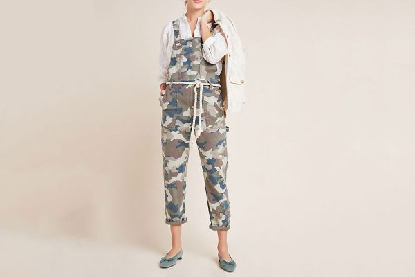 Anthropologie Carter Utility Overalls