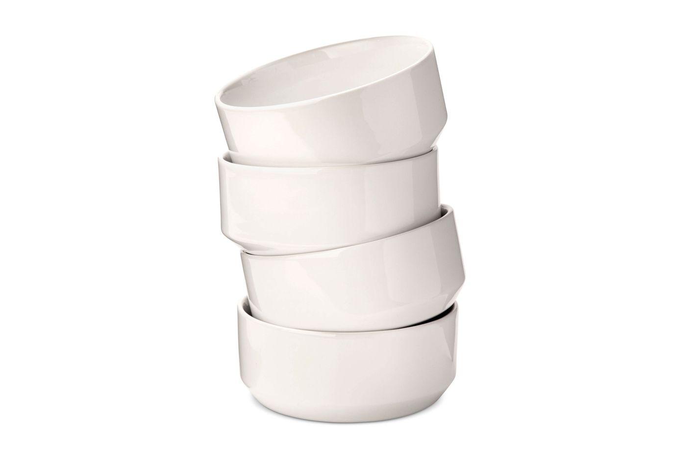 Modern by Dwell Magazine Stoneware Glazed Bowls, Set of 4