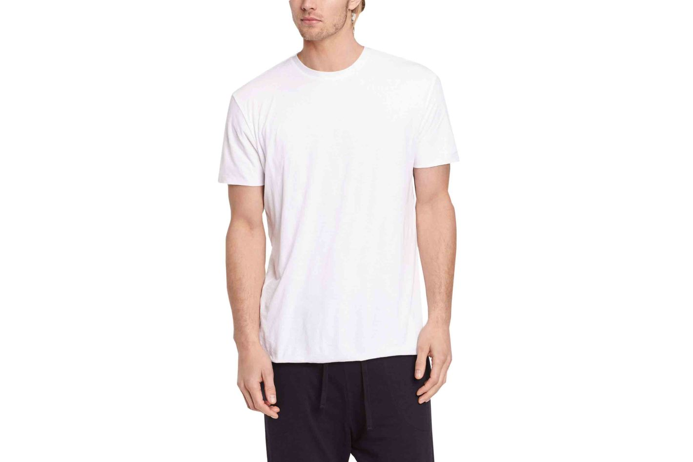Vince Double Layer Crew Neck Tee