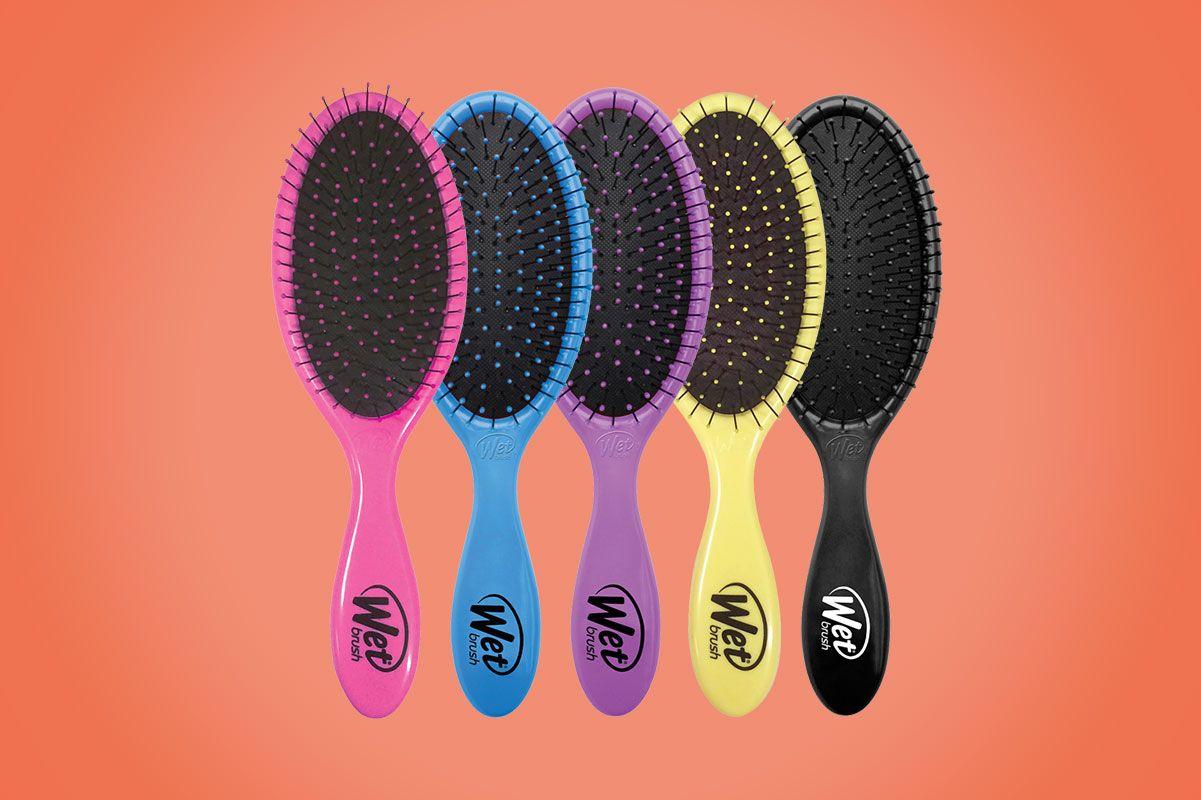 Wet Brush Detangler Hair Brush (2-Pack)